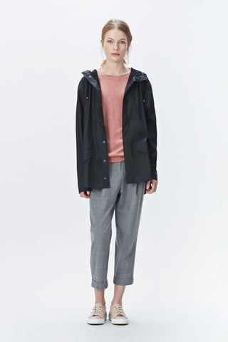 Rains Black Jacket, Raincoats - La Luce