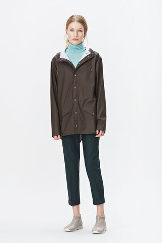 RAINS Jacket - Brown
