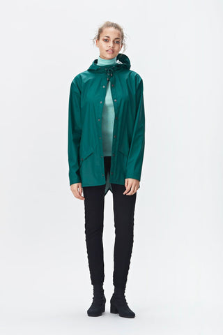 RAINS Jacket - Dark Teal