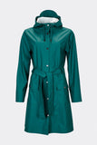 RAINS Curve Jacket - Dark Teal