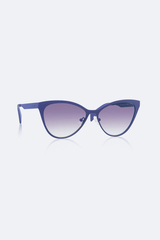 Italia Independent I-METAL | Mod. 0022 Dark Violet, Sunglasses - La Luce