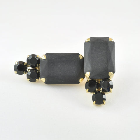CATERINA MARIANI BIJOUX Black Earrings, Earrings - La Luce