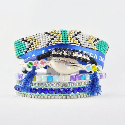 HIPANEMA Fluoblue Bracelet - La Luce