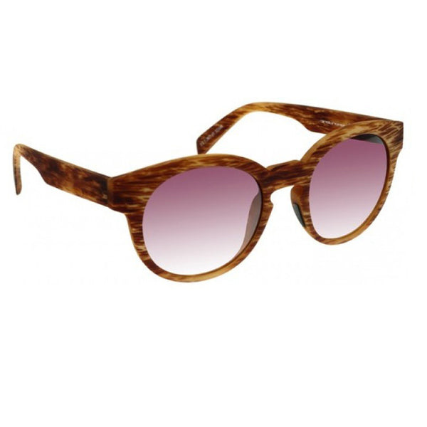Italia Independent I-PLASTIK | Mod. 0909 Brown, Sunglasses - La Luce