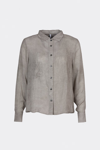Ready To Fish by Ilja Viser - Bryonia Smokey Grey Shirt, Shirts - La Luce