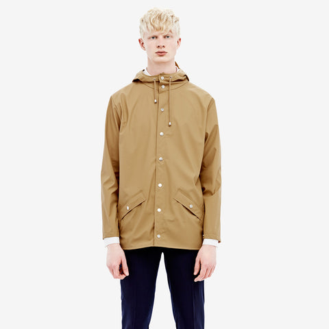 RAINS Khaki Jacket men's - La Luce - 1