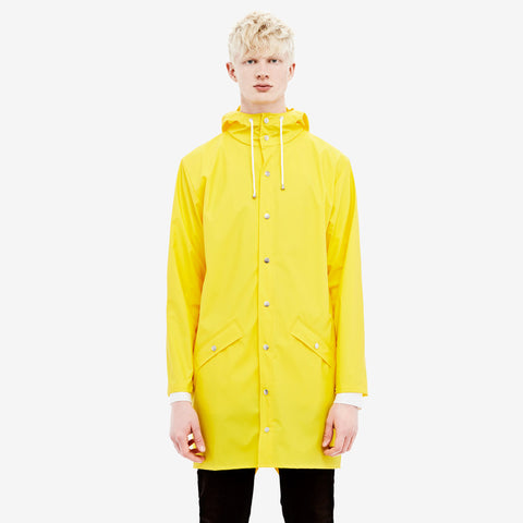 RAINS Long Jacket - Yellow Men's - La Luce - 1