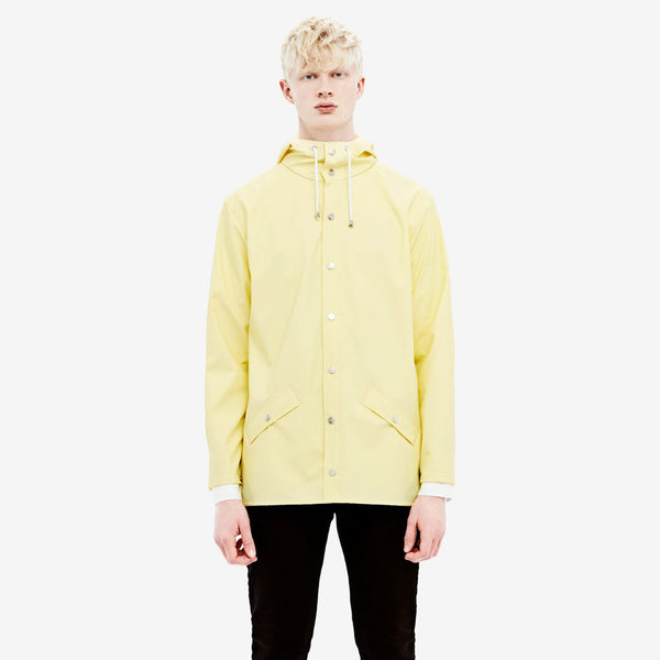 RAINS Wax Yellow Jacket men's, Raincoats - La Luce