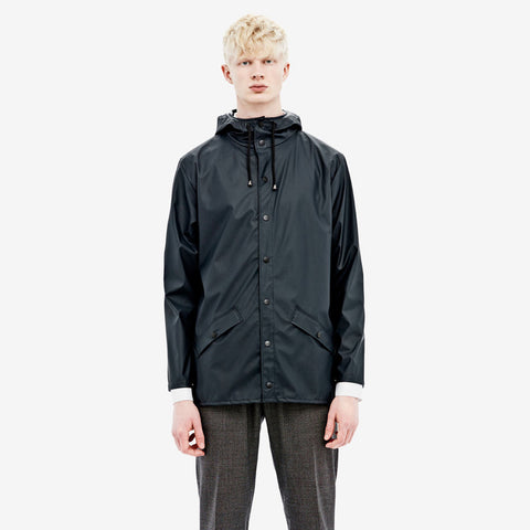 RAINS Blue Jacket men's, Raincoats - La Luce