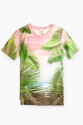 Edward Achour - Junior Sunset T-shirt, T-shirt - La Luce
