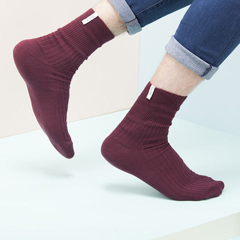 KEMPINK Adam Bordeaux, Socks - La Luce