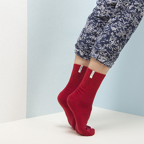 KEMPINK Adam Bernau Red, Socks - La Luce