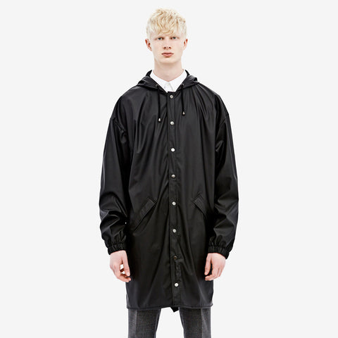 RAINS Loose-fit Jacket - Black Men's