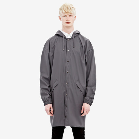 RAINS Loose-fit Jacket - Smoke Men's - La Luce - 1