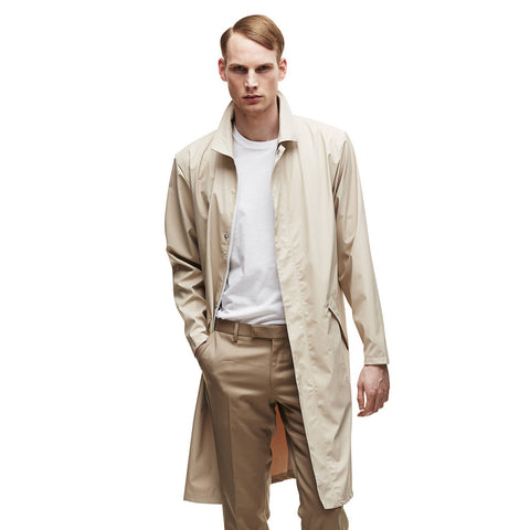 RAINS Mac Coat - Sand Men's, Raincoats - La Luce