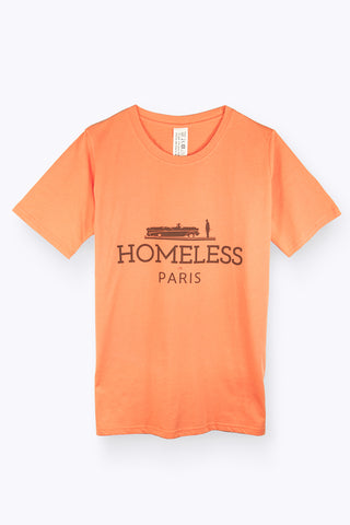 Edward Achour - Jerk Orange T-shirt, T-shirt - La Luce