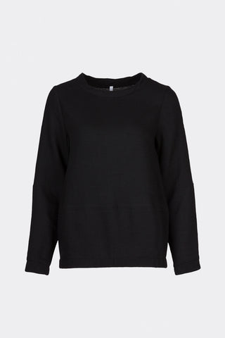 Ready to fish by Ilja Viser - Tulipa Black Sweater, Sweaters - La Luce