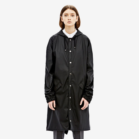 RAINS Loose-fit Jacket - Black - La Luce - 1