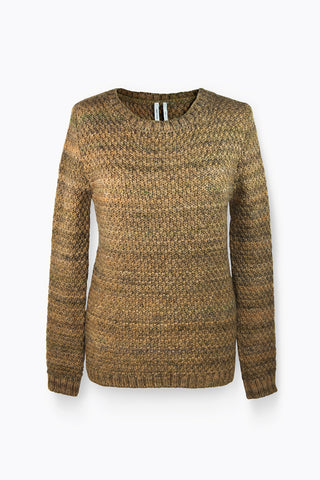 Ready To Fish by Ilja - Trape Brown Melange Sweater, Sweaters - La Luce