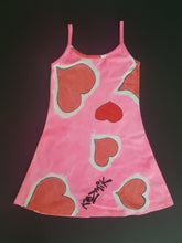 Load image into Gallery viewer, Hearts Dress - Age 7-8