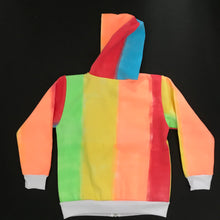 Load image into Gallery viewer, Bold Stripe Hoodie - Age 5-6