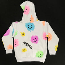 Load image into Gallery viewer, Smiley Clouds Hoodie - Age 5-6