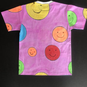 Smiley Face T-Shirt - Age 7-8