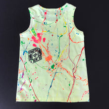 Load image into Gallery viewer, Yellow Splash Singlet 2 - Age 5-6