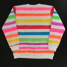 Load image into Gallery viewer, Candy Stripe Sweatshirt - Age 9-10