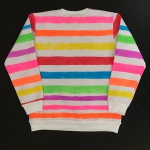 Candy Stripe Sweatshirt - Age 9-10