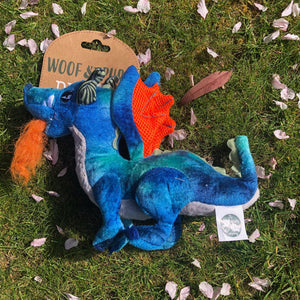 Woof and Purr Dragon soft toy