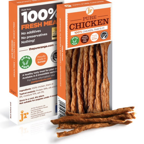 Pure chicken sticks