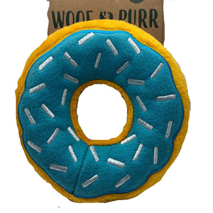 Donut squeaky toy