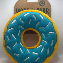 Load image into Gallery viewer, Donut squeaky toy