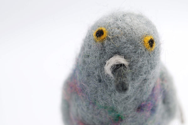 Felted Pigeon - Peter Hall & Son