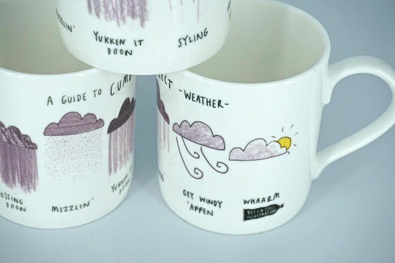 Cumbrian Weather Mug - Peter Hall & Son