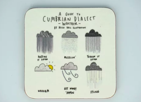 Cumbrian Weather Coaster - Peter Hall & Son