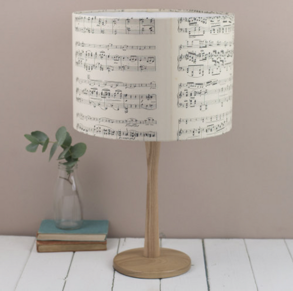Vintage Music Lampshade