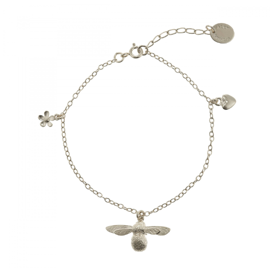 Baby Bee Silver Bracelet - Peter Hall & Son