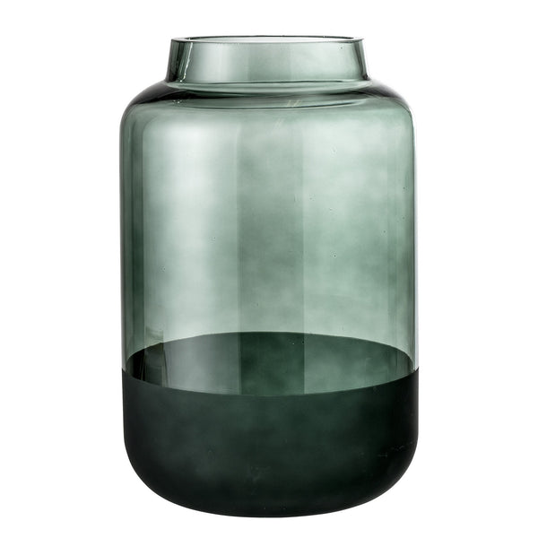 Green Glass Vase - Peter Hall & Son