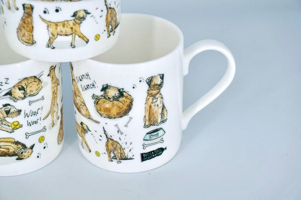 Border Terrier Mug - Peter Hall & Son