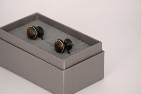 Handturned Cufflinks - Peter Hall & Son