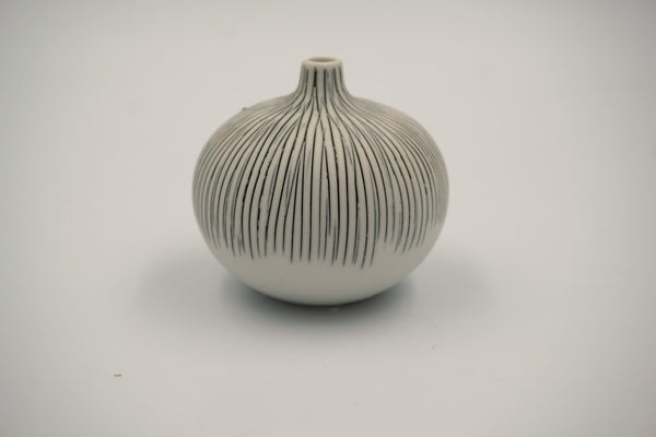 Small Bari Small Grey Vase - Peter Hall & Son