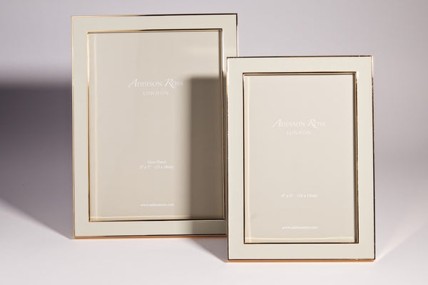 Gold Plate Chiffon Photo Frame - Peter Hall & Son