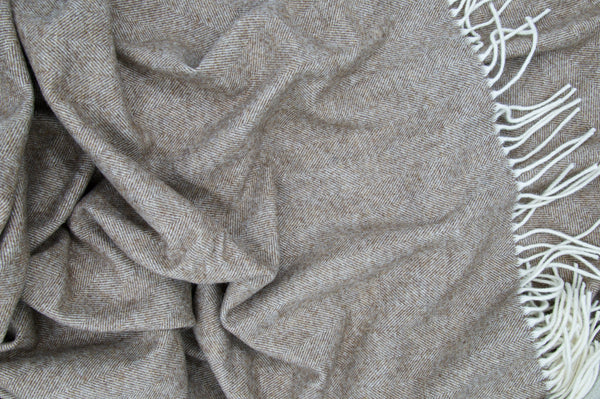 Limited Edition - Alpaca/Wool Blended Throw - Peter Hall & Son