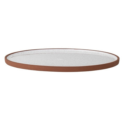 Large Terracotta Serving Plate - Peter Hall & Son