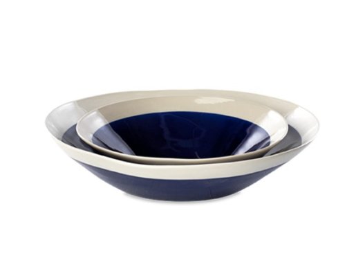 Datia Navy Serving Bowl Small - Peter Hall & Son