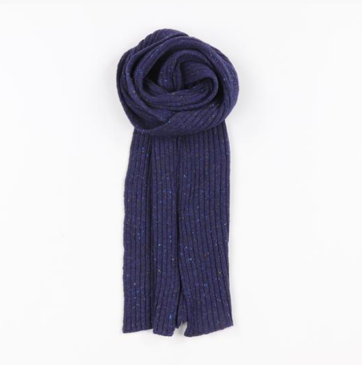 Donegal Ribbed Scarf