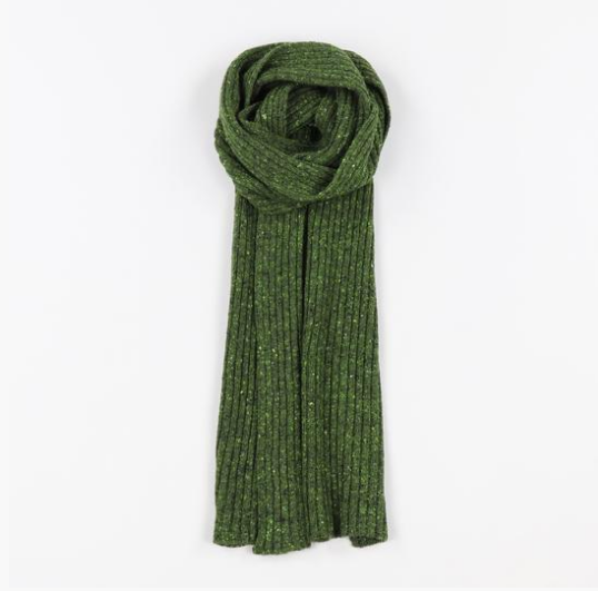 Donegal Ribbed Scarf - Peter Hall & Son