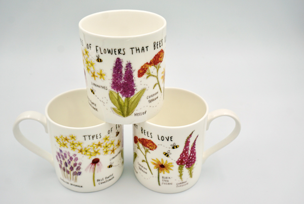 Flowers for Bees Mug - Peter Hall & Son